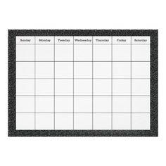 Classroom Blank Calendar Poster / bulletin board displays / bulletin boards / school / education / classroom decor / classroom ideas