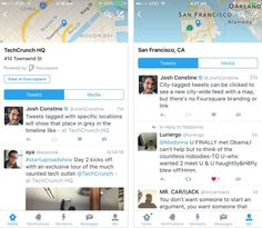 Twitter Rolling Out Foursquare-Powered Locations to iOS Users  Foursquare agreed in March 2015 to power location data on tweets with location tags, but not much has come of it, until now.