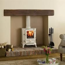 fireplace with stove - Google Search