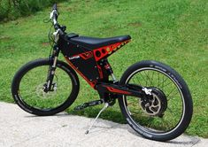 Qulbix Raptor, Offroad Hot Rod Electric Bike