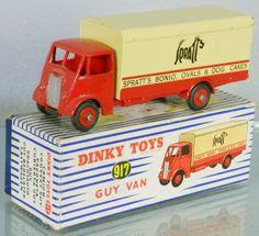 DINKY 917 SPRATT'S GUY VAN