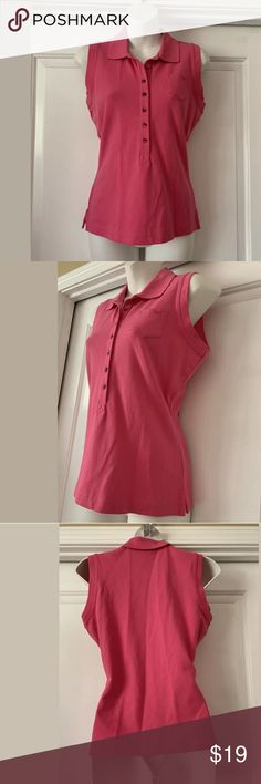 47f20c63fbc773 NWT new Faconnable pink tank top size XS Nice collared pink tank top Size  small New