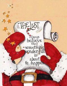 .the list.