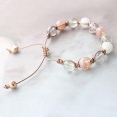 Schitterend sieraden setje in pastel kleurtjes voor een frisse nieuwe look met onze Glaskralen Transparant Gemêleerd.