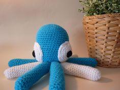 Pulpo amigurumi Octopus, Amigurumi