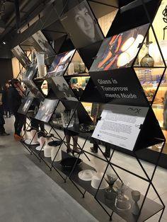 TONIGHT #glassistomorrow meets @NudeGlass cocktail at pasabahce store, corso matteotti, 3 @TLmag22 #MilanDesignWeek