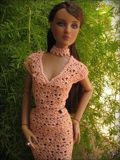 "Skirt & Top for 16"" Tonner dolls - See this image on Photobucket."