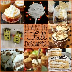13 Must Try Fall Desserts