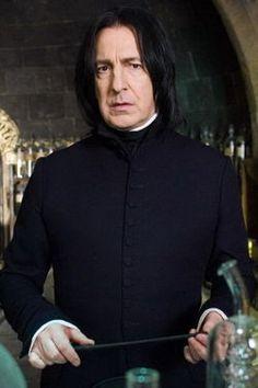 Snape - ostatnio jeden z ukochańszych bohaterów - rhomantycznych