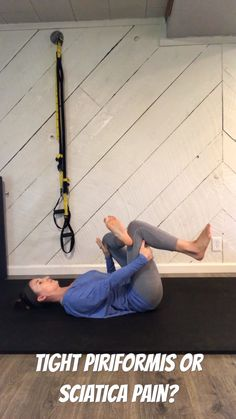 Mountain Biking Discover Tight Piriformis or Sciatica Pain? This series of stretches is great for piriformis syndrome a tight Piriformis or even moderate sciatica pain. From Strong Mommas. Yoga For Sciatica, Sciatica Stretches, Sciatica Pain Relief, Sciatic Pain, Hip Pain Relief, Lower Back Pain Relief, Fitness Workouts, Hip Workout, At Home Workouts