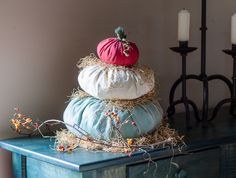 Inspired by real Cinderella heirloom pumpkins, this pumpkin craft is easy to create and makes a great accent piece for your fall decor.