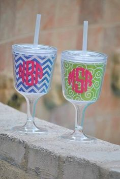 Wine tumbler with straw 16 oz tumbler party by perfectpairparties1, $19.95