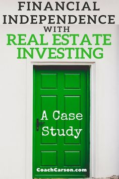 Great real estate investing tips.