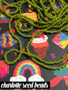 Beading Basics: Seed Beads & Peyote Stich | Alonso Sobrino Hnos. Co. & Inc. Druzy Beads and Fabrics