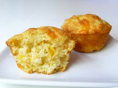 Corn & cheddar muffins.  I made these for dinner tonight...  delicious!