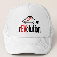 rEVolution Electric Vehicle Revolution - Cap - cyo diy customize unique design gift idea perfect