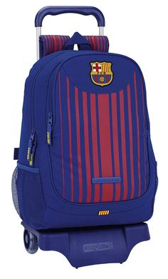 Safta Mochila F.C. Barcelona 17/18 Oficial Escolar Con Carro Safta 330x150x430mm: Amazon.es: Equipaje Fc Barcelona, Soccer Bedroom, Toy Cars For Kids, Childcare, School Bags, School Supplies, Football, Backpacks, Nintendo Switch