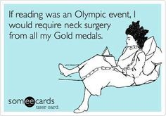 #Olympic Reading!