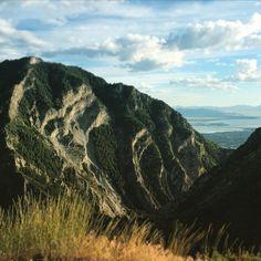 Mountain ridge hike