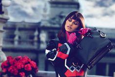 Penélope Cruz for Loewe Fall/Winter 2013-2014 Campaign  #handbags #bags