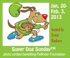 Super Dog Sunday™, benefiting Petfinder Foundation! http://www.dogtipper.com/blog/2012/12/superdogpics-super-dog-sunday.html  #SuperDogSunday