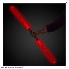 Sabre laser lumineux et sonore space 2