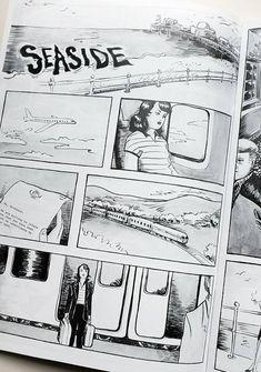 Seaside, graphic novel by Johanna Öst, available on Etsy.