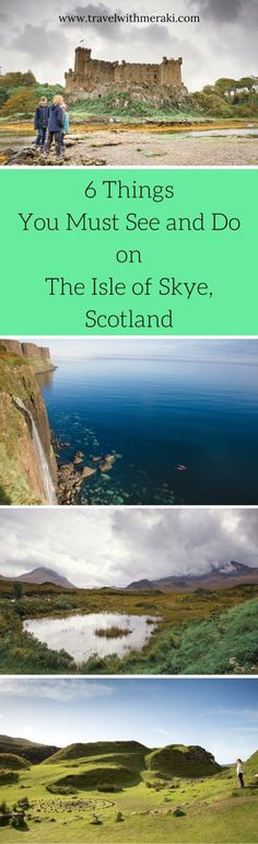 The Isle of Skye, Scotland is a place that gets under your skin. Hiking the Isle of Skye fairy pools, exploring Dunvegan Castle and more. #scotland #isleofskye #fairypools #fairypoolsisleofskye #dunvegancastle