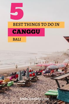 Canggu is a coastal village in Bali located between Seminyak and Tanah Lot. Its quickly become one of the hottest destinations to visit in Bali attracting young travellers digital nomads and surfers. Read more for 5 of the best things to do in Canggu Bali Travel Guide, Travel Tips, Travel Destinations, Travel Goals, Travel Packing, Travel Backpack, Vietnam Travel, Asia Travel, Japan Travel