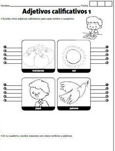 Cuadernillo de adjetivos calificativos - http://materialeducativo.org/cuadernillo-de-adjetivos-calificativos/