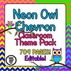 This megapack /bundle contains 709 pages of printables for you to use, decorate and organize your classroom! Even if you don't have a themed classroom there are some great materials for you to use in your classroom. This is themed with owls & bright neon chevron colors. Check out the preview file for better images! Great for teachers or educators! Owls galore!