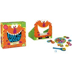Feed the Woozle- great game for pre-k!