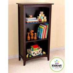 KidKraft - Avalon Tall Bookcase, Espresso