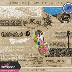 Spring Day - Stamp Kit