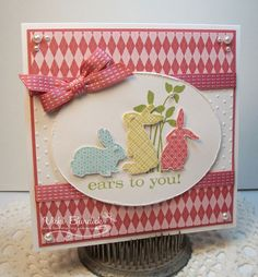 Hello Peeps!!     Today over at  Still AddINKtive  we are spotlighting Easter, actually the challenge is to use any current Stampin Up ...