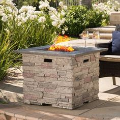 ETCO Fire Pit Natural Gas Linear Burner Pan Kit   Wayfair Outdoor Fire Pit Table, Outdoor Gas Fireplace, Propane Fire Pit Table, Fire Pit Backyard, Gas Fireplaces, Natural Gas Fire Pit, Gas Fire Pits, Fire Pit Essentials, Fire Pit Materials