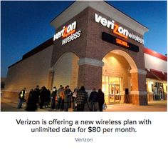 #ProductiveShapeLife - Verizon finally brings back the unlimited data plan – CNet