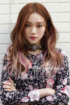 Weightlifting Fairy Kim Bok Joo Fanart, Lee Sung Kyung Hair, Korean Hair Color, Peekaboo Hair, Medium Hair Styles, Long Hair Styles, Dread Hairstyles, Hair Color And Cut, Korean Actresses