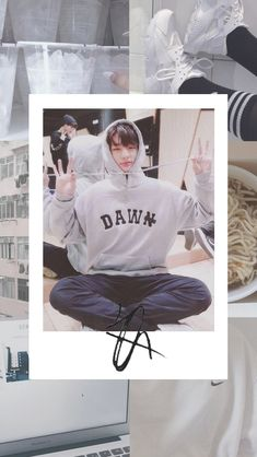 Hyunjin Stray Kids Lockscreen Moodboard
