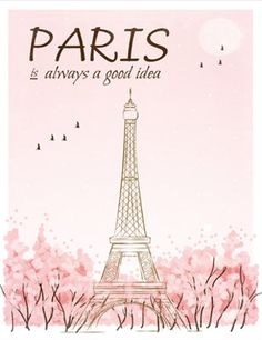 Instant downlod, paris is always a good idea, audrey hepburn quote, paris q Pink Paris, I Love Paris, Illustration Parisienne, Pray For Paris, World Quotes, Everything Pink, Paris Travel, Illustrations, Travel Quotes