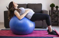 Tschüss, Rückenschmerzen! Hallo, flacher Bauch! Bringt euren Körper mit Gymnastikball-Übungen in Form!