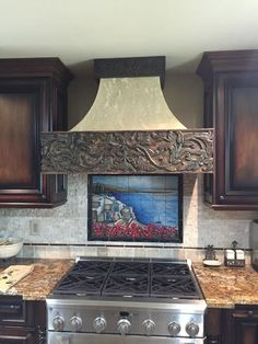 Beautiful panels into modern living spaces, using them as: kitchen hoods, fireplace mantels, shelves, wall decor, doorway lintels, decorative elements on furniture, and room moulding.