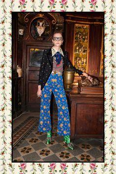 Gucci just released images of its Pre-Fall 2017 collection, and we spotted a major trend among the gorgeous shoes. Find out what it is here.