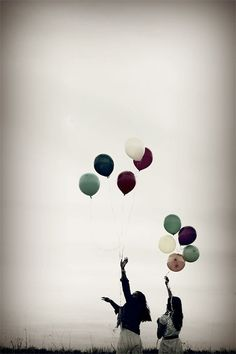 Ballonnen loslaten