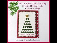 Cricut Creative Cards Holiday Christmas Tree