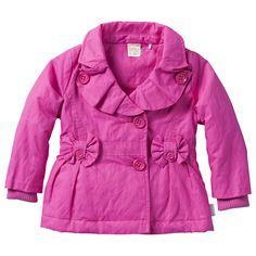 Gevoerde roze jas van Jottum (model Berber) welke zeer geschikt is voor het voor- en naseizoen.