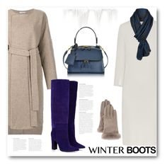 """""""So Cozy: Winter Boots"""" by bliznec ❤ liked on Polyvore featuring HUGO, Protagonist, Barbara Bui, Victoria Beckham, UGG, polyvoreeditorial, winterboots and polyvorecontest"""