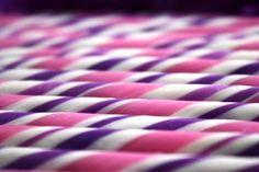 Purple, Pink & White