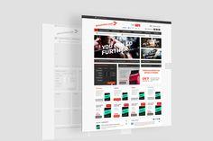 GoNutrition Ecommerce website.