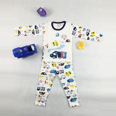 Today's England Style Kids Fashion Pajamas Sleepwear Boys Sets 2-10T